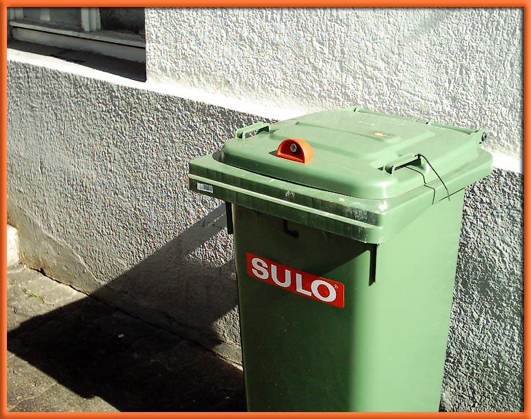 Keiner kommt an meinen Müll