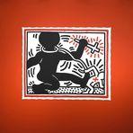 Keith Haring -- Untitled (Apartheid) 1984   ...__©D0272--X'OC