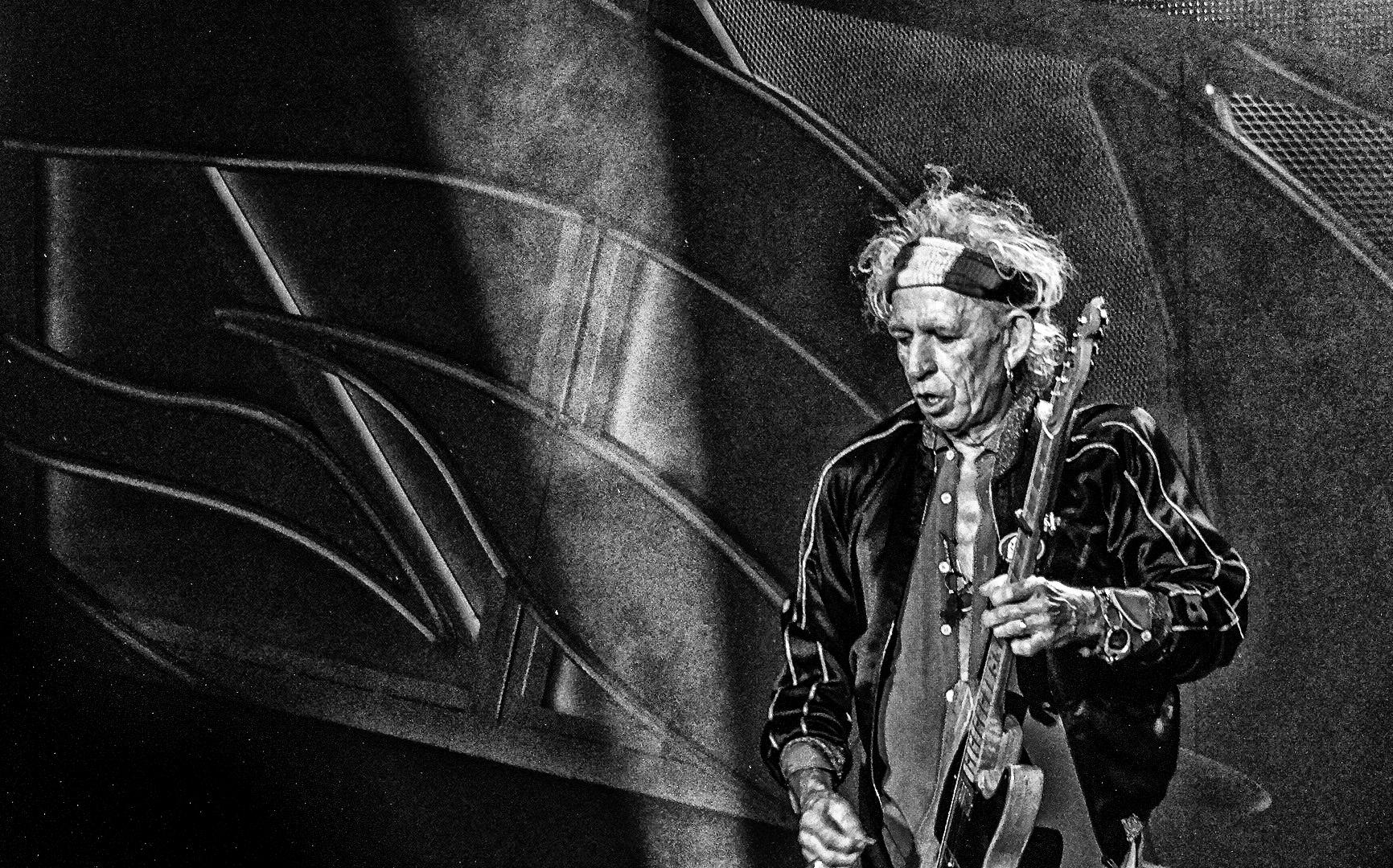 Keith - Rolling Stones Konzert