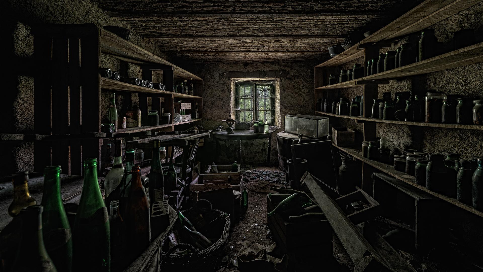 Keller einer Maison