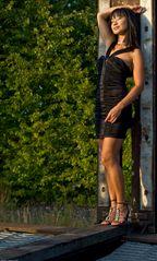 Kelly in der Abendsonne III