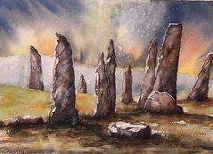 keltischer Steinkreis