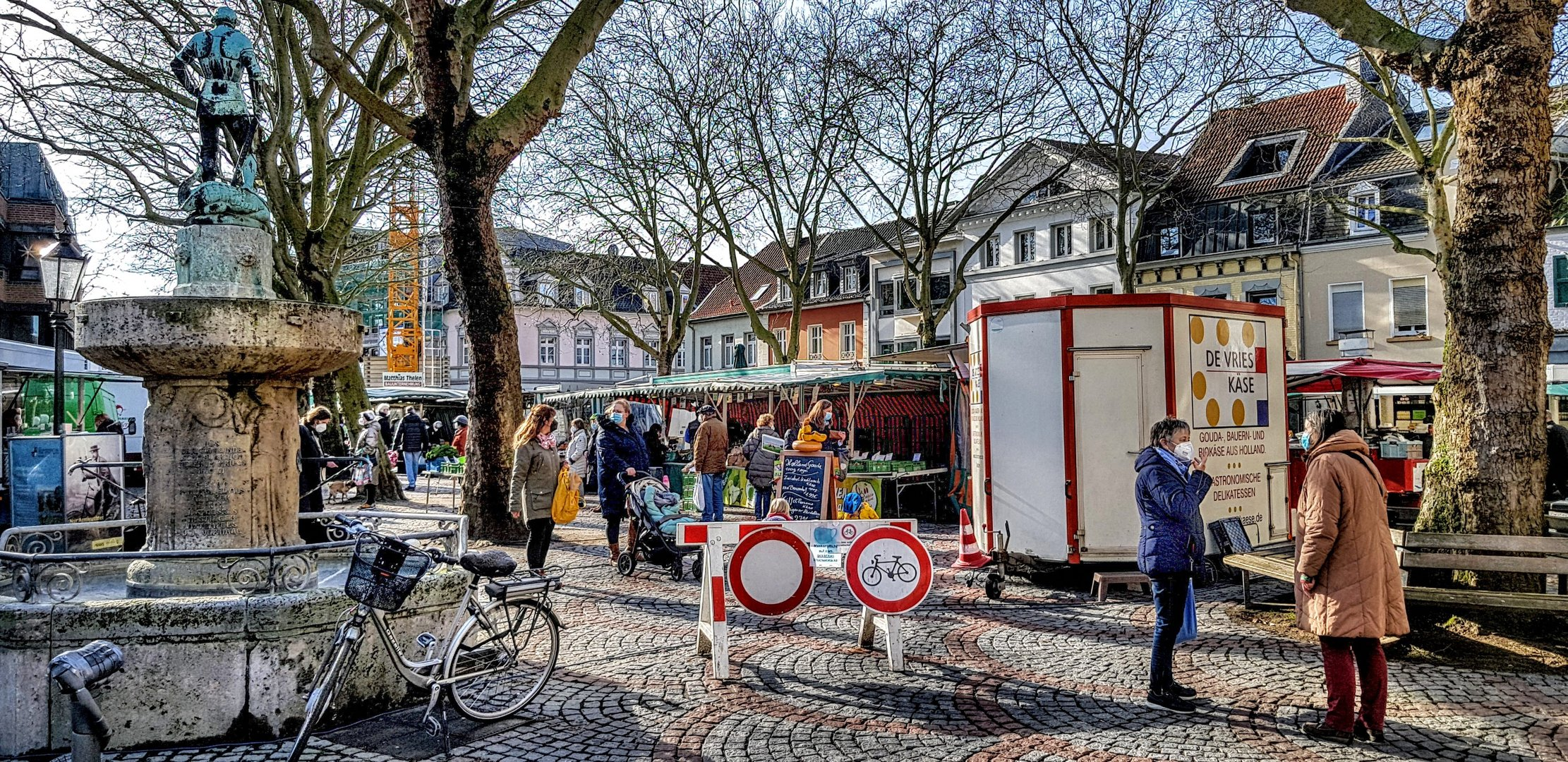 Kempen:   Freitag ist Markttag!