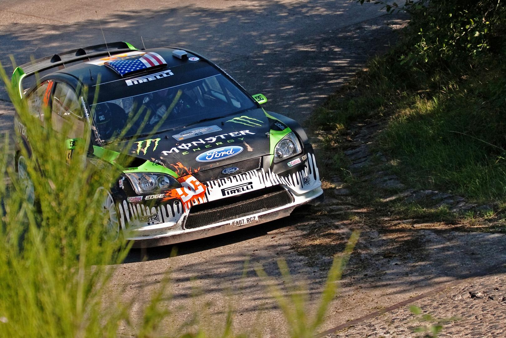 Ken Block @ WRC Baumholder Platte Nord