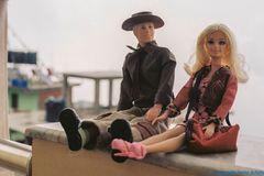 Ken u. Barbie genießen  die Aussicht