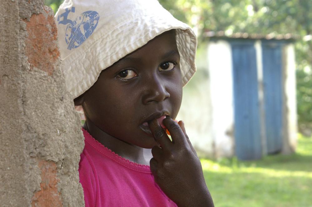 kenianisches Kind
