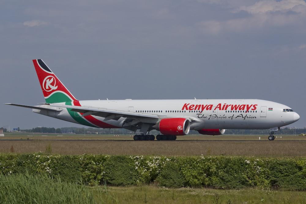 Kenya Airways - Boeing 777-2U8/ER