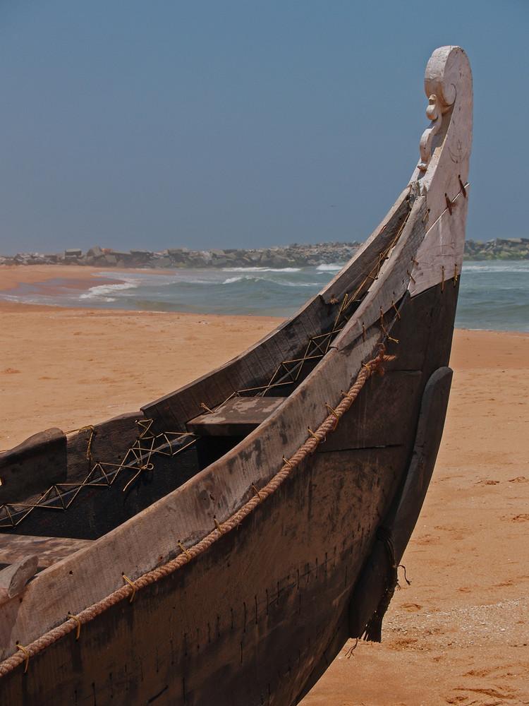 Kerala south India 2005 : Like a venetian gondola