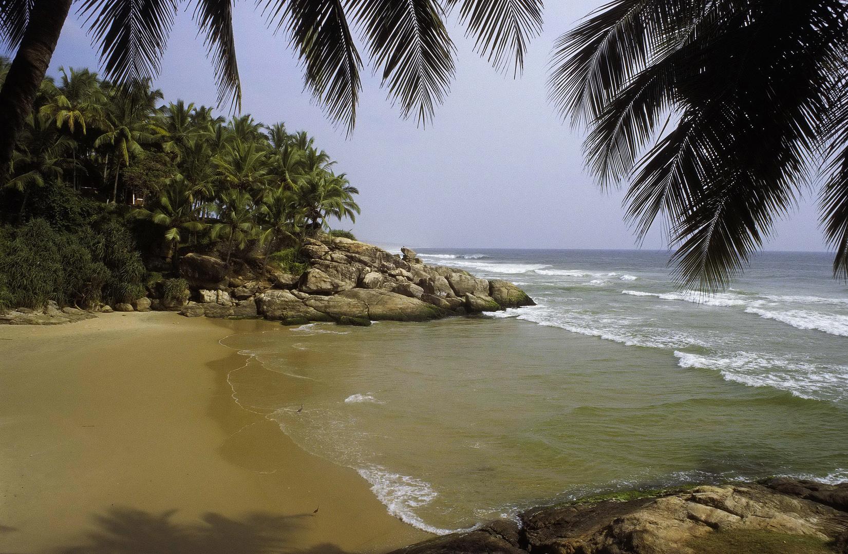 Kerala, Strand - analog