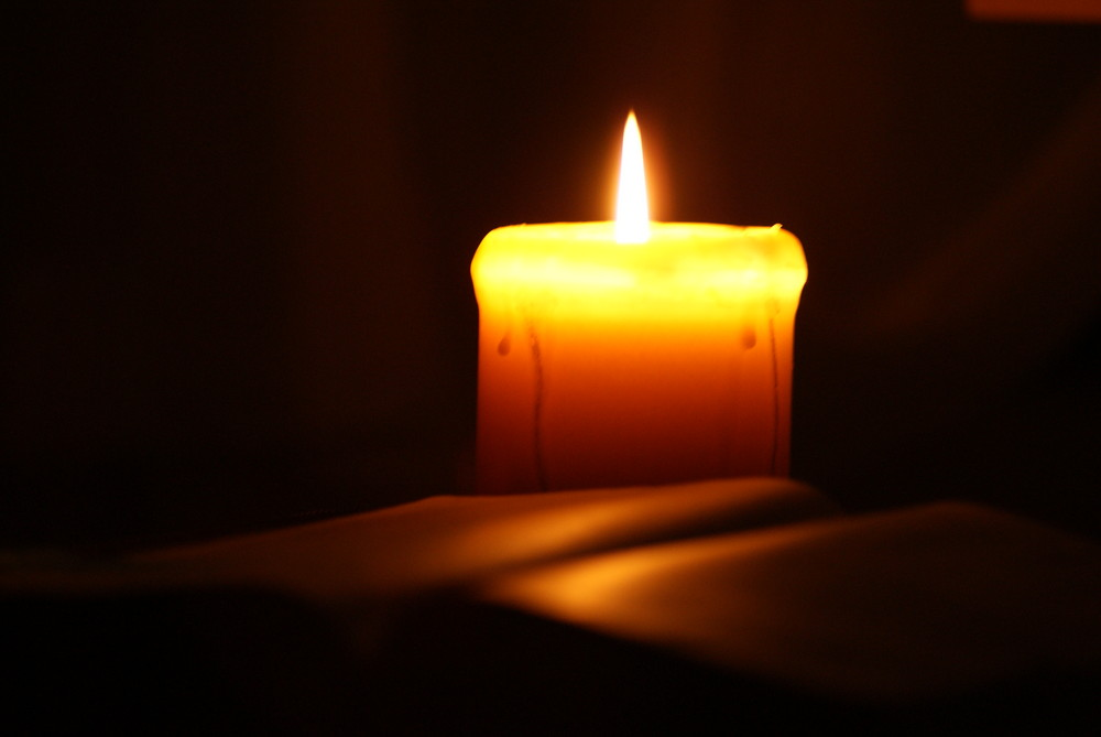 Bild Auf Kerze