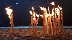 Kerzen in der Klosterkirche