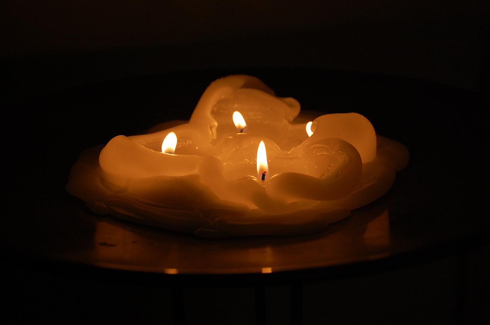 Kerzen zur kalten Jahreszeit