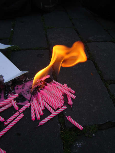 Kerzenfeuer