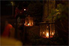 Kerzenlicht-Atmosphäre