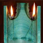 Kerzenspielerei zum Spiegeltag vom 29.09.2020