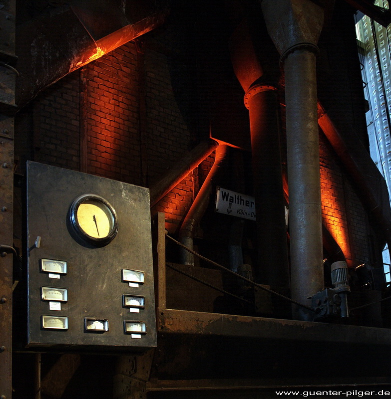 Kesselhaus Zeche Zollverein - Innenansicht, Essen