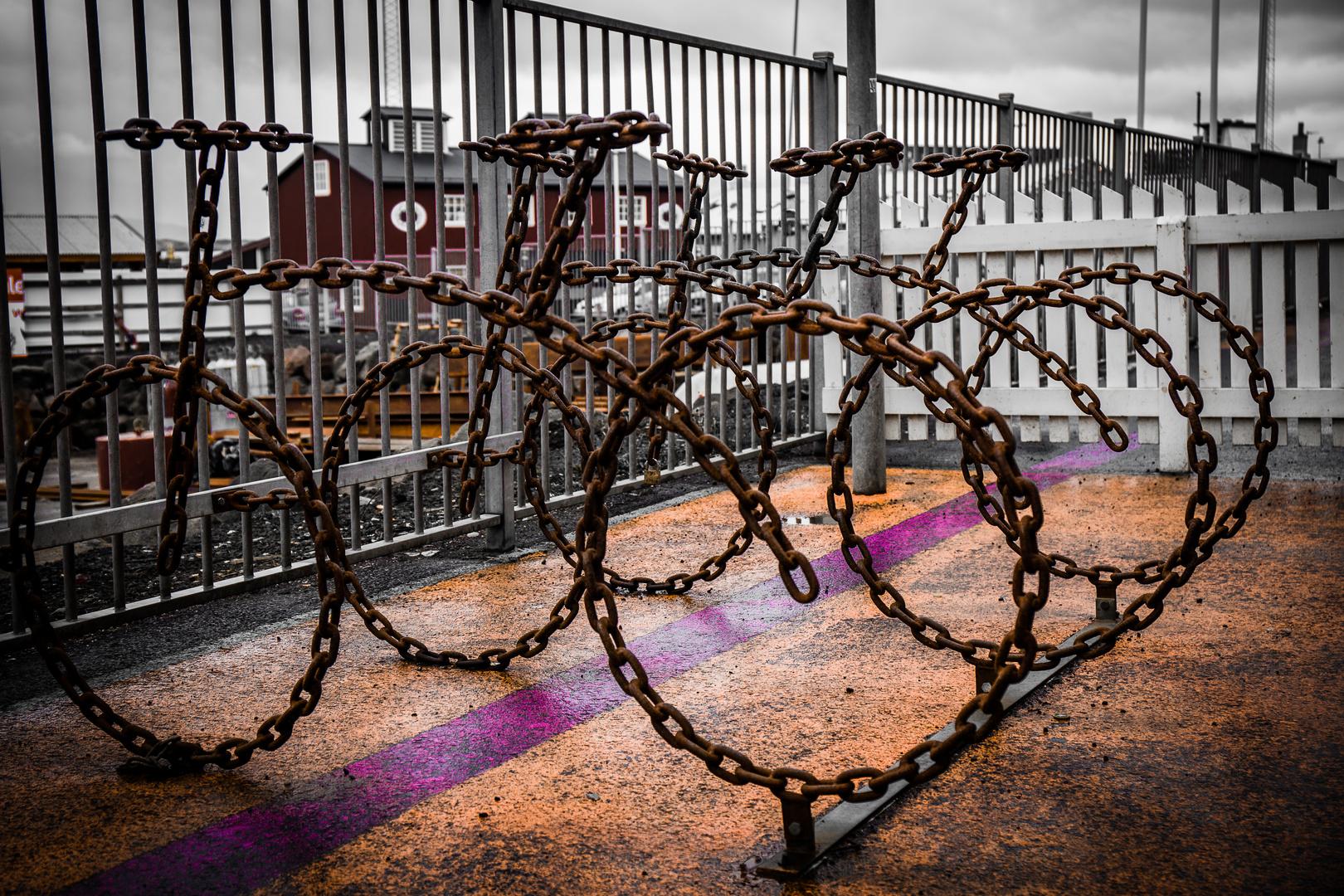 Kettenfahrrad Foto & Bild   fahrrad, island, world Bilder auf ...