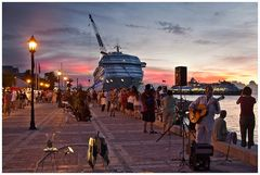 Key West - Sunset Celebration....