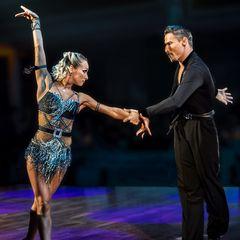 Khrystyna Moshenska&Marius-Andrei Balan beim ChaChaCha