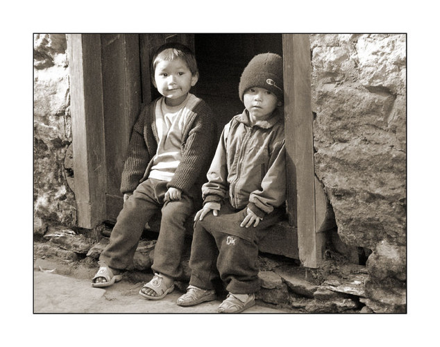 Khumbu-Kinder