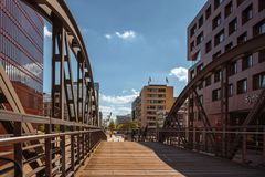 Kibbelstegbrücke - Hafencity Hamburg