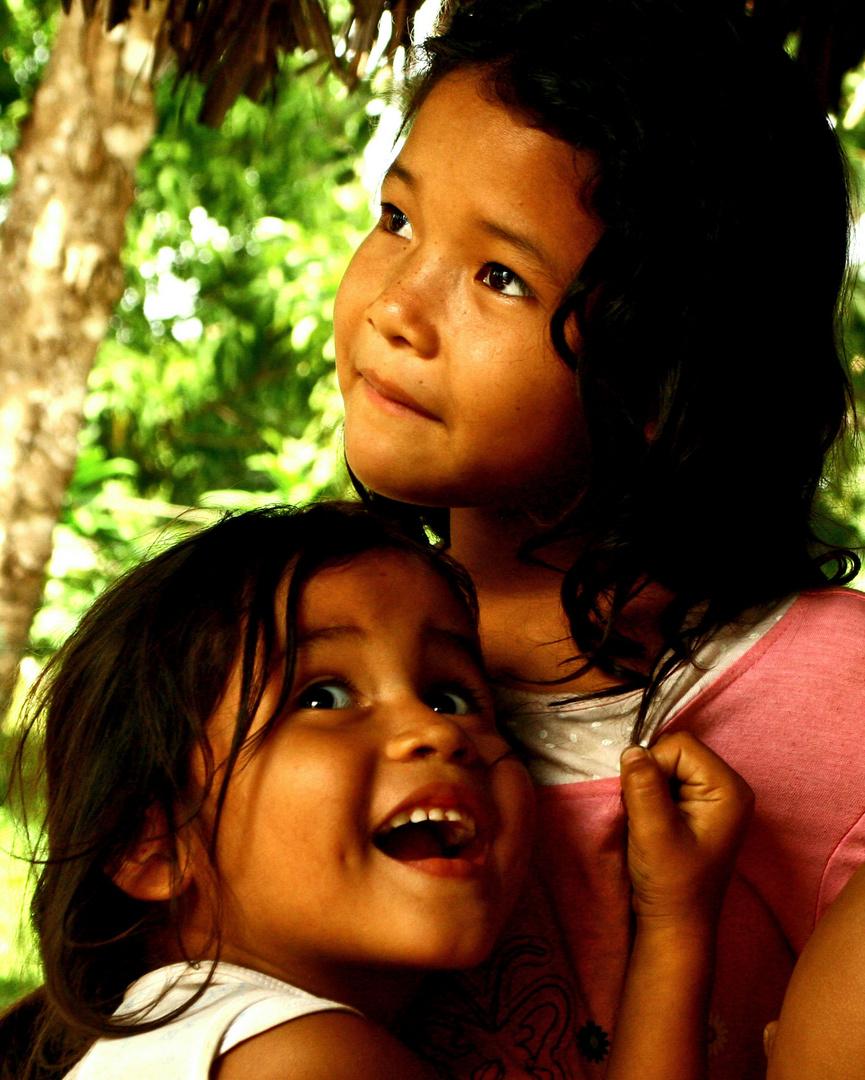 Kids from Orinoco Delta