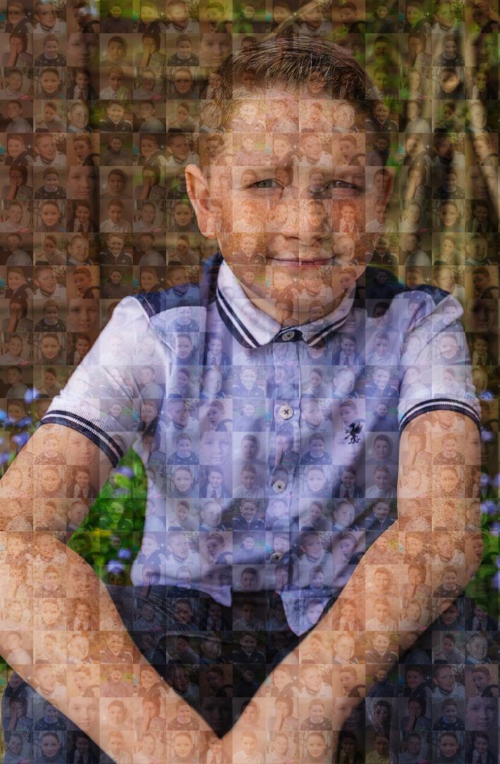 Kids in Mosaic
