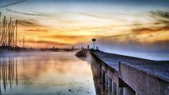 Kiel #27 (foggy morning sun)