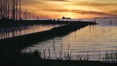 Kiel #34 (Sonnenaufgang an der Förde)