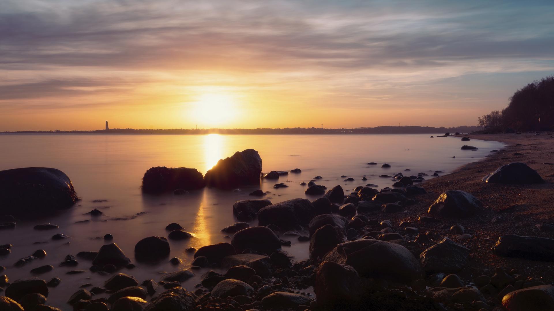 Kiel #72 (Sonnenaufgang an der Ostsee)