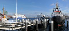 Kiel im Hafen