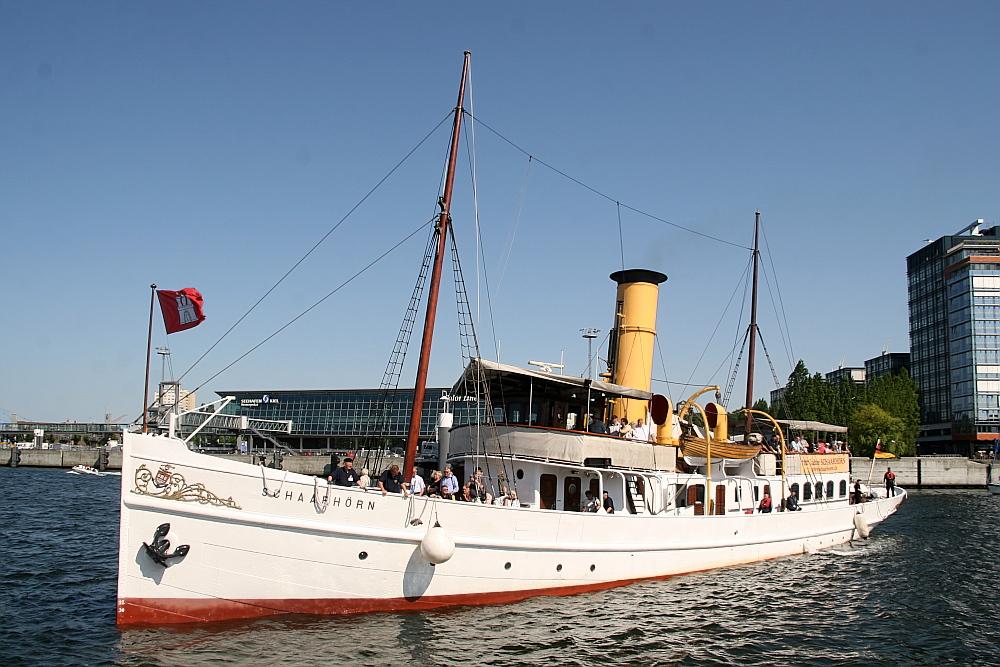 """Kiel unter Volldampf"": Der 100-jährige Dampfer Schaarhörn"