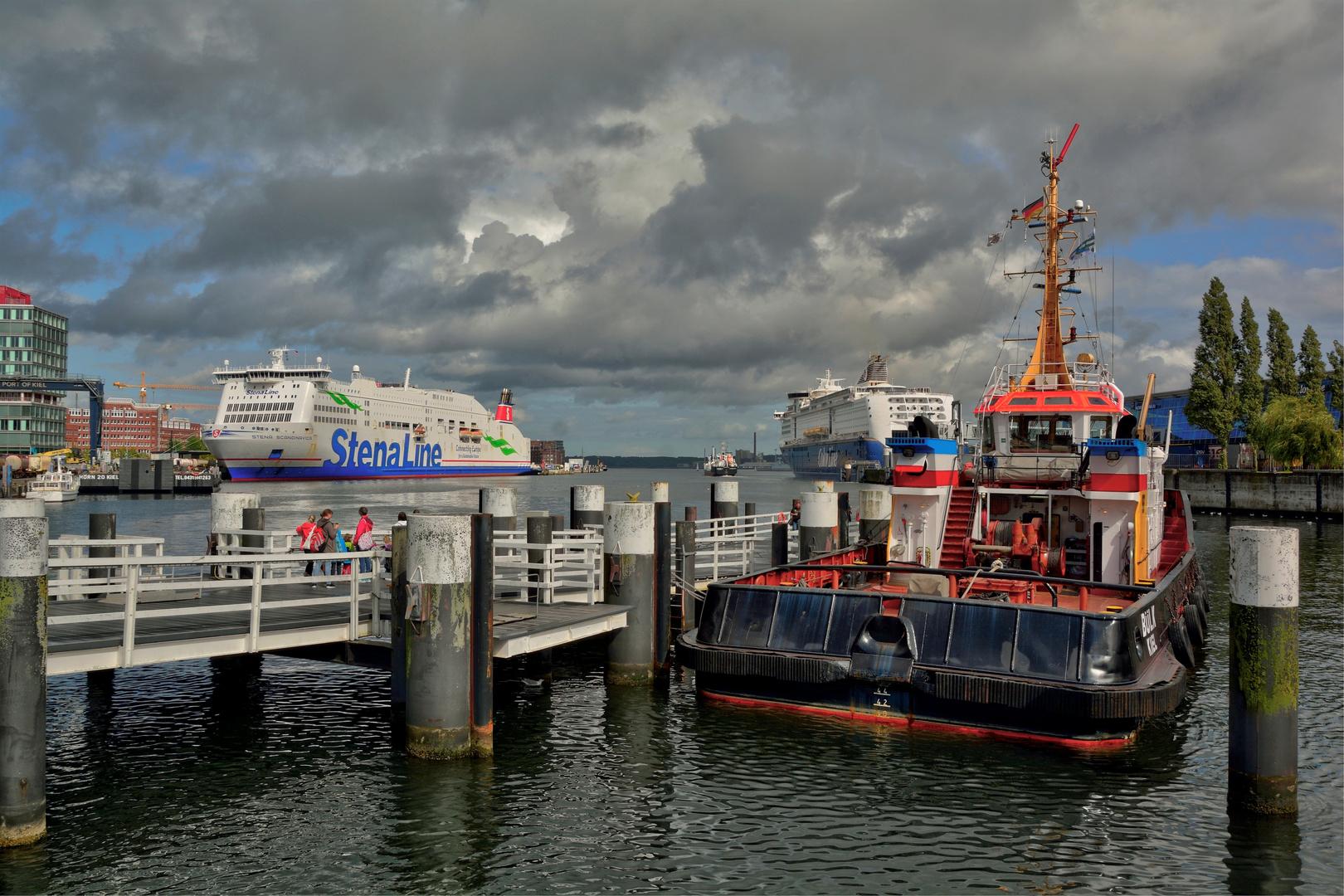 Kieler Hafen #1 Foto & Bild | schiffe und seewege, fähren