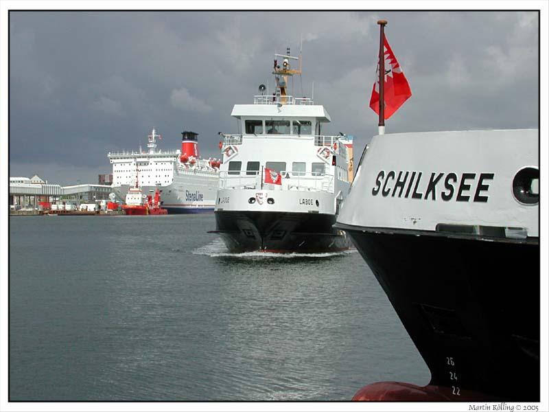 Kieler Hafen vor dem Gewitter