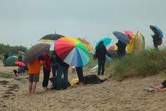 Kieler Woche 2016, Windjammerparade, eine feuchte Angelegenheit!