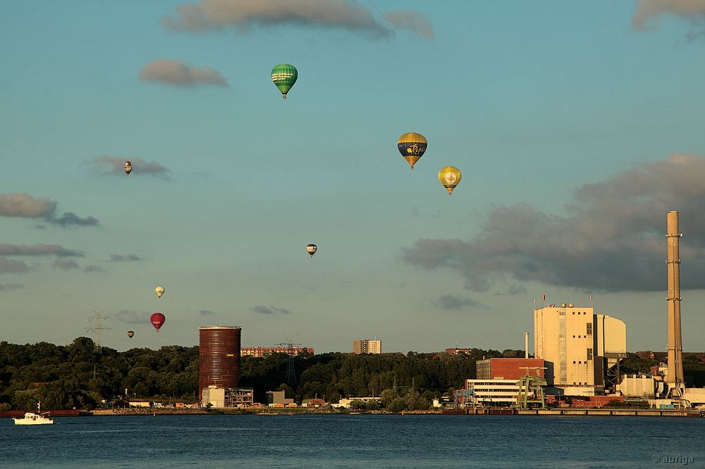 Kieler Woche: Balloon Sail 2016