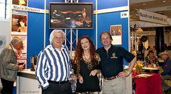 Kilian Forster mit Maria Markesini und Bob Hagen (v.r.n.l.)