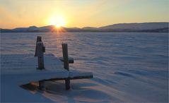Kilpisjärvi, Das Ende der Polarnacht