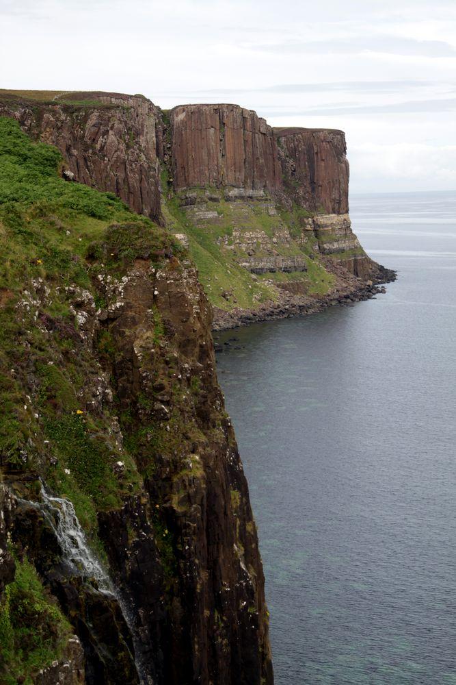 Kilt Rock in Schottland