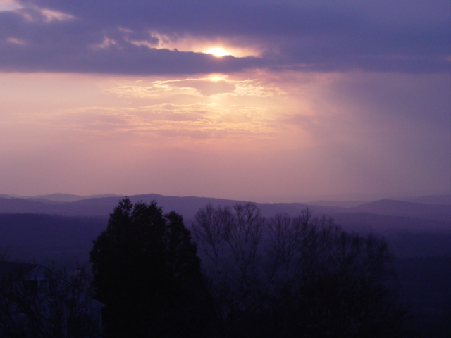 Kimbal Hill Summer Sunset