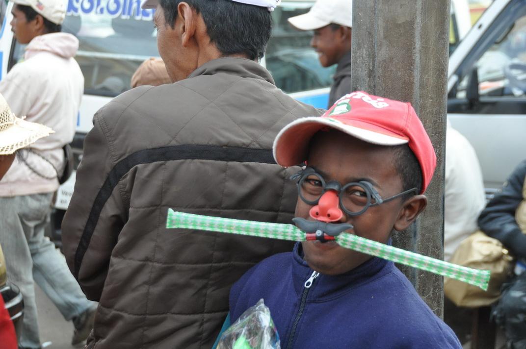 kind aus madagaskar