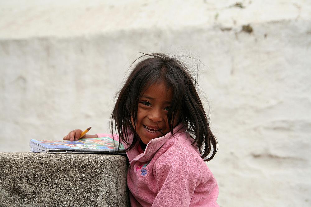 Kind in Guatemala