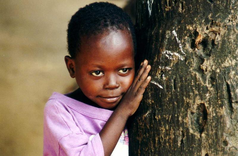 Kind in Kenia