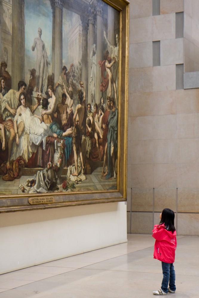 Kind in Orsay Museum, Paris