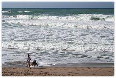 Kinder am Meer (2)