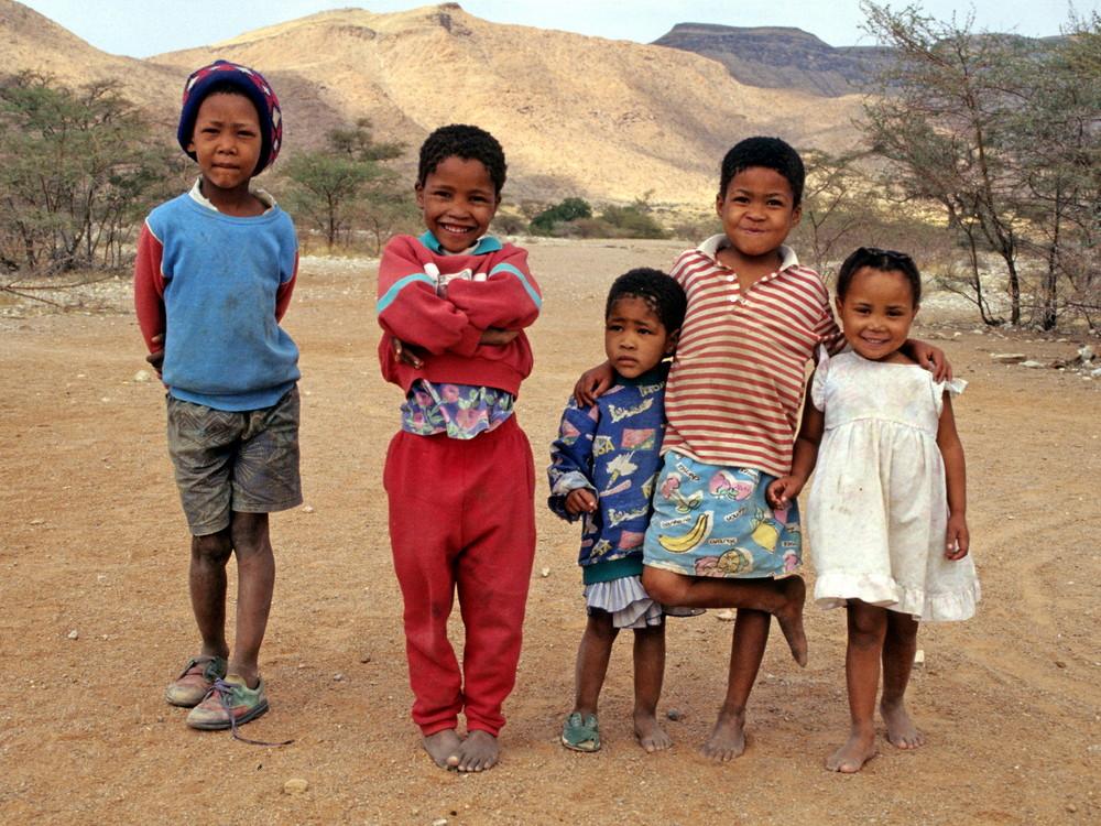 Kinder auf Ababis