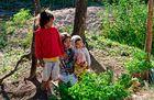 Kinder auf Flores