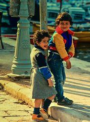 Kinder auf Hydra.                 .DSC_6585