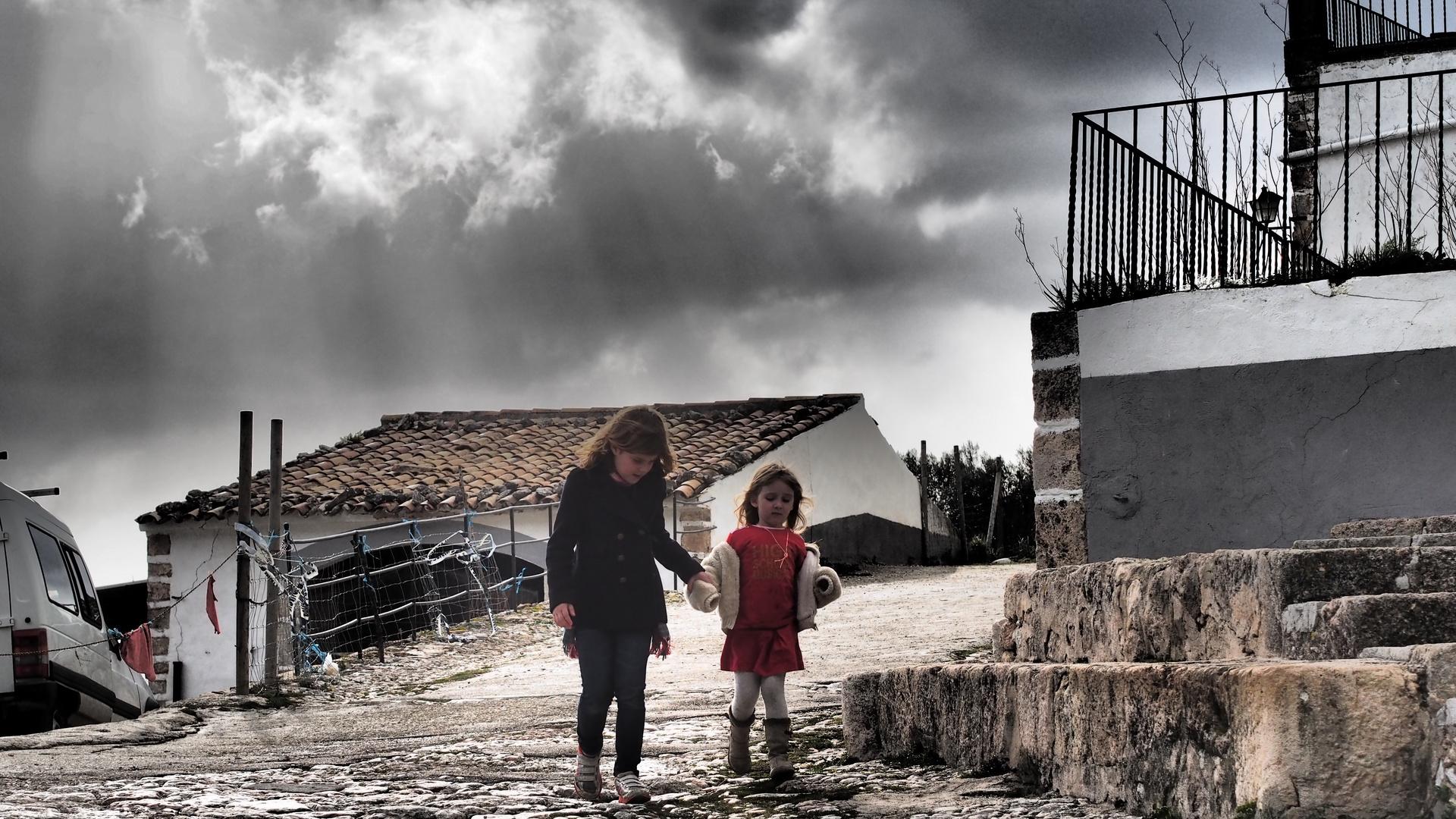 Kinder auf Mallorca