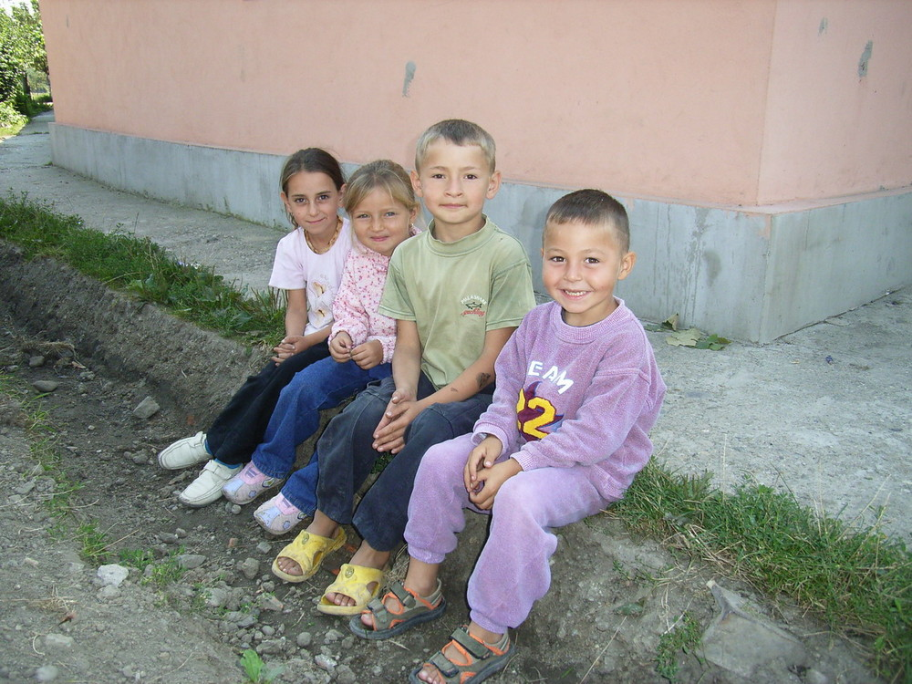 Kinder aus Kuntzi- Timisoara